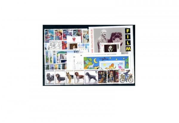 BRD Briefmarken 1995 Jahrgangssatz gestempelt