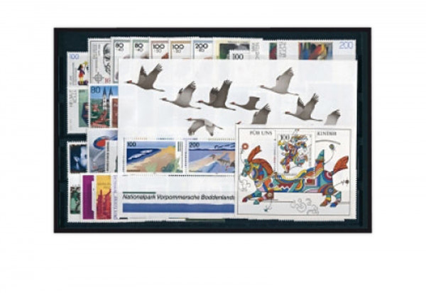 BRD Briefmarken 1996 Jahrgangssatz gestempelt