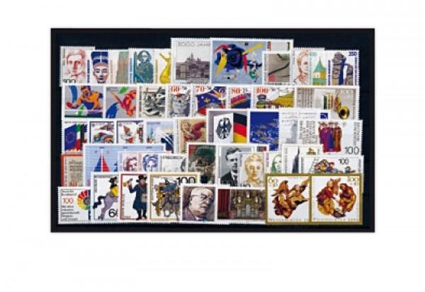 BRD Briefmarken 1998 Jahrgangssatz gestempelt