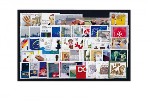 BRD Briefmarken 1999 Jahrgangssatz gestempelt