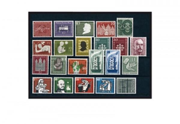 BRD Briefmarken 1956 Jahrgangsatz gestempelt