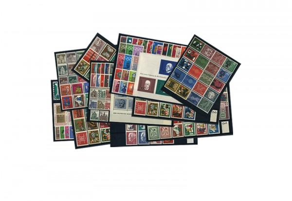 BRD Briefmarken 1960 bis 1969 komplett postfrisch