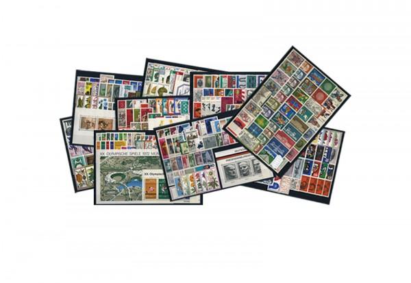 BRD Briefmarken 1970 bis 1979 komplett postfrisch