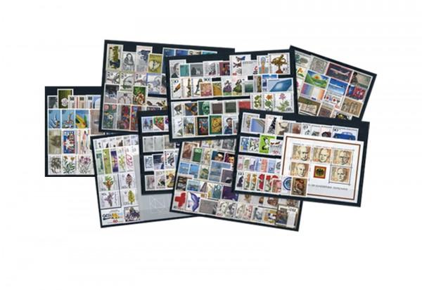 BRD Briefmarken 1980 bis 1989 komplett postfrisch