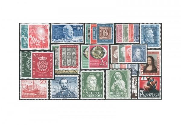 BRD Set der Jahre 1949-1954 postfrisch plus Gratis Bonus