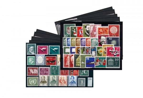 BRD Jahrgänge 1949-1959 Michel Nr. 111-325 (ohne Posthornsatz) postfrisch