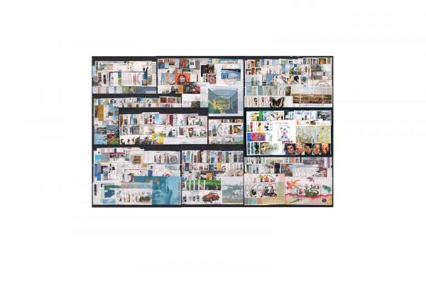 BRD Briefmarken 2000 bis 2009 komplett Michel Nr. 2087 bis 2767 gestempelt