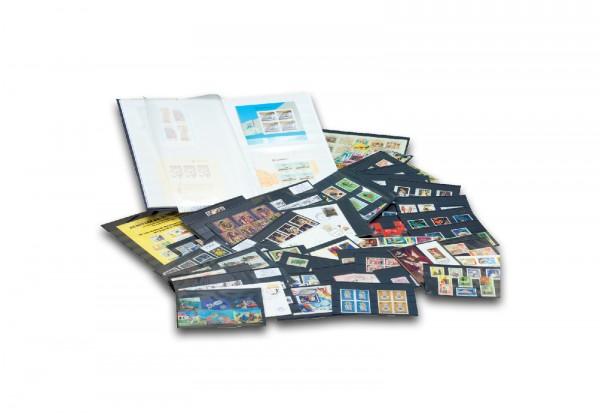 Welt-Kiste inkl. Monaco-Block und Einsteckalbum CEPT