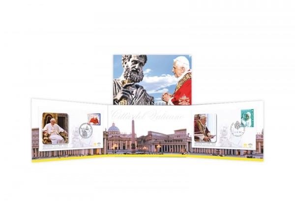 FDC Papst Benedikt XVI. - Sede Vacante Piccolo
