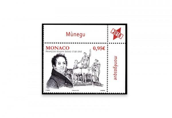 Monaco Briefmarke 2018 250. Todestag von François-Joseph Bosio Michel Nr. 3389 postfrisch