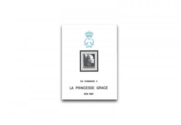 Monaco Block 22 Tod von Fürstin Gracia Patricia postfrisch