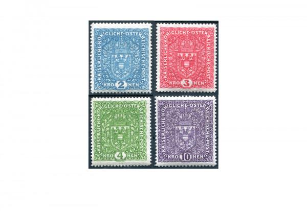 Kaiserreich Österreich Mi.Nr. 208/211 II postfrisch