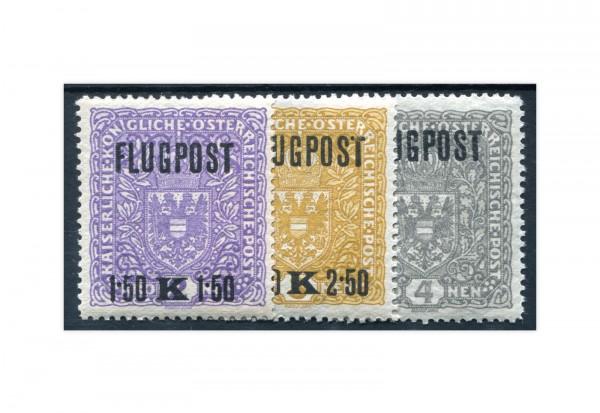 Österreich Kaiserreich Flugpostmarken 1918 Mi.Nr. 225/227 y **