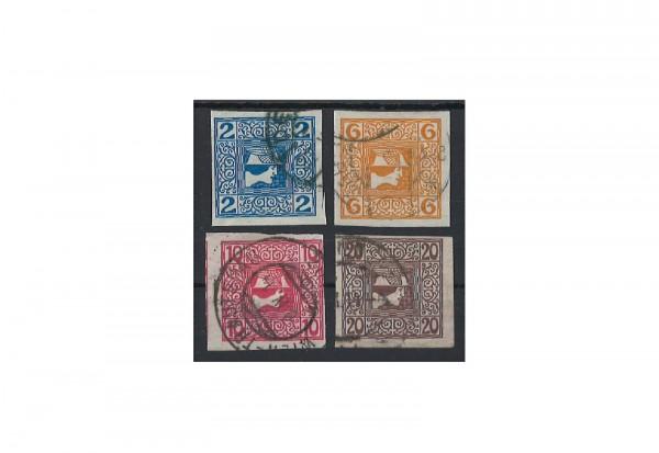 Briefmarken Österreich Kaiserreich Michel-Nr. 157/160 postfrisch