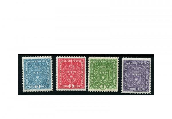 Kaiserreich Österreich Mi.Nr. 204/7 gestempelt