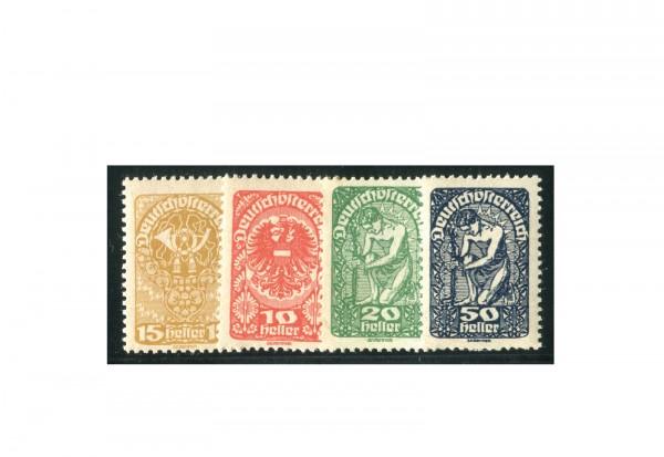 Briefmarken Österreich Freimarken 1919-1920 Michel-Nr. 260-271 y postfrisch