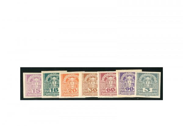Briefmarken Österreich Freimarken 1920-1921 Michel-Nr. 301-311 y postfrisch