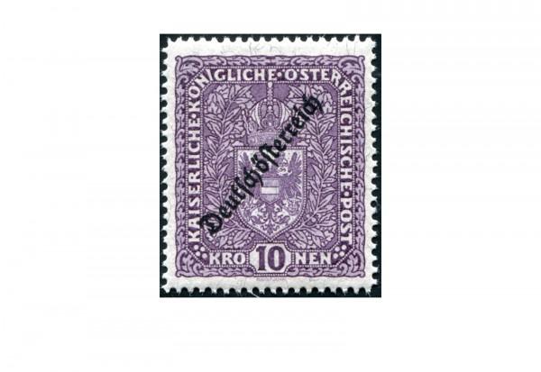 Österreich Kaiserreich Mi.Nr. 246 I A ** Wappen 1919 Hochformat