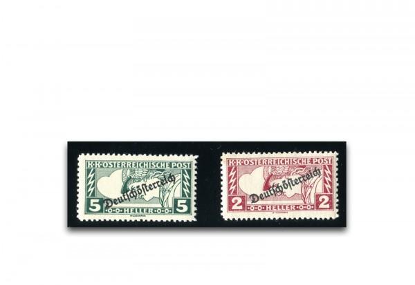 Österreich Mi.Nr. 252/253 postfrisch Merkurkopf 1919
