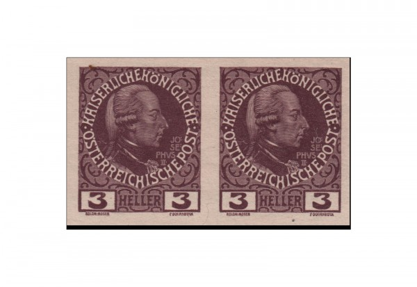Österreich/Kaiserreich Freimarken 60jähriges Regierungsjubiläum Kaiser Franz Joseph 1908/13 Michel N