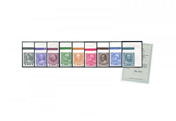 Österreich Kaiserreich Regierungsjubiläum 1908 Michel ANK-Nr. 139-144 xzU + 146-149 xzU postfrisch F
