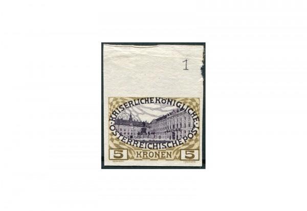 Briefmarke Österreich Regierungsjubiläum 1908 ANK-Nr. 155 PU Falz mit Fotoattest Soecknick