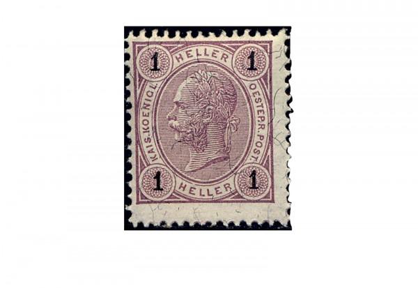 Österreich Mi.Nr. 69 ** Kaiser Franz Joseph 1899