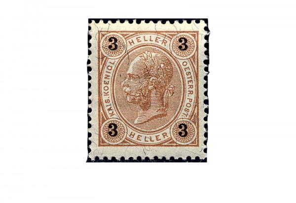 Österreich Mi.Nr. 71 ** Kaiser Franz Joseph 1899
