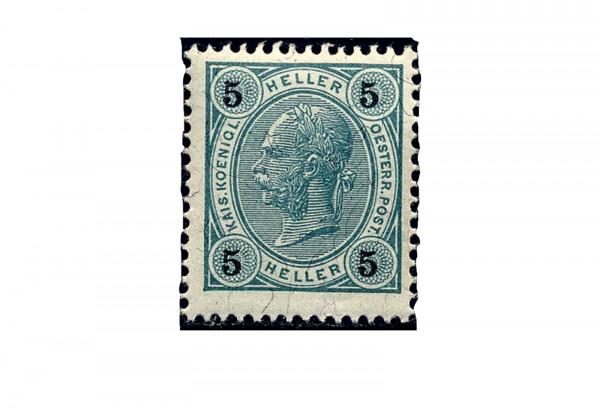 Österreich Mi.Nr. 72 ** Kaiser Franz Joseph 1899