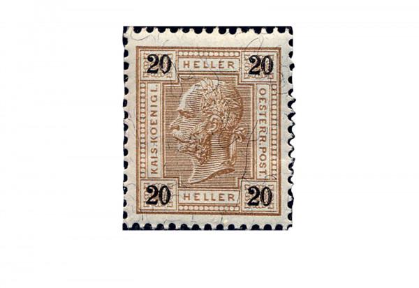 Österreich Mi.Nr. 75 ** Kaiser Franz Joseph 1899