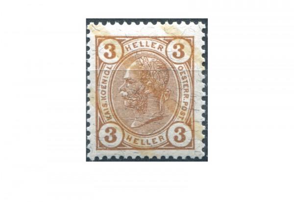 Österreich Mi.Nr. 107 ** Kaiser Franz Joseph 1904