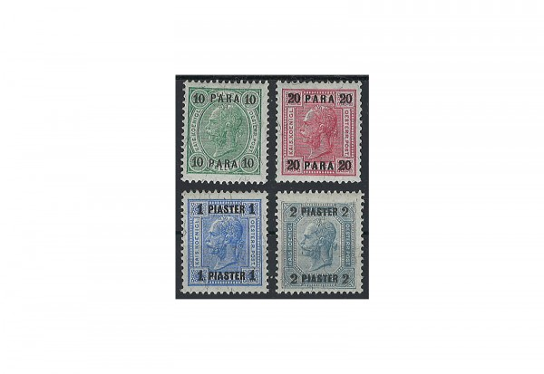 Levante Franz Joseph 1905 Mi.Nr. 47-50 **