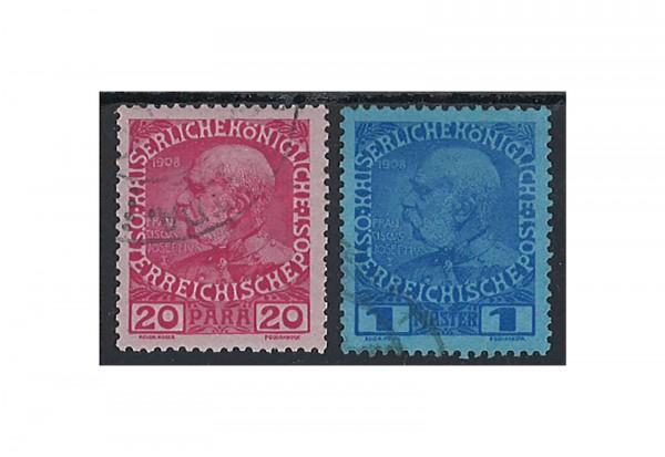 Levante Franz Joseph 1914 Mi.Nr. 62-63 **