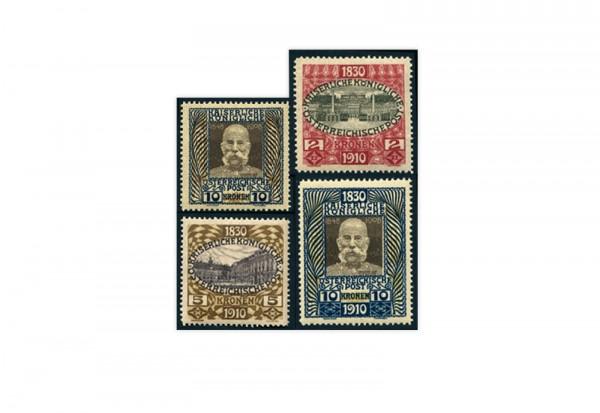 Briefmarken Österreich 1930 Jubiläumsausgaben Kaiser Franz Joseph Michel-Nr. 156 N, 175 N postfrisch