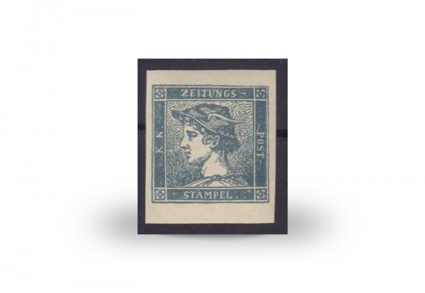 Briefmarke Österreich Blauer Merkur Zeitungsmarke 1851/1887 Michel-Nr. 6 ND postfrisch