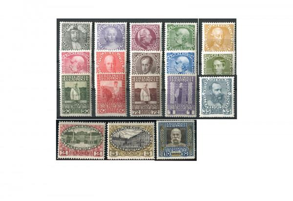 Österreich Franz Joseph Mi.Nr. 139/56 Falz