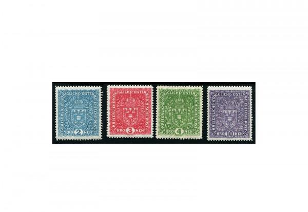 Kaiserreich Österreich Mi.Nr. 204/207 Falz
