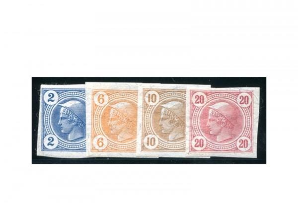 Österreich Kaiserreich Mi.Nr. 97/100 Falz Zeitungsmarken