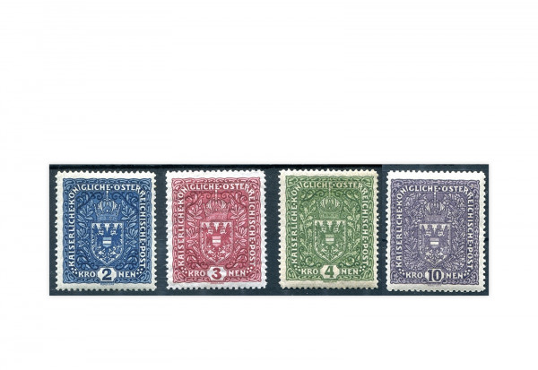 Österreich Kaiserreich Mi.Nr. 200/203 Falz