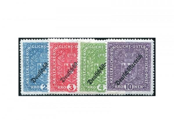 Österreich Mi.Nr. 243/246 II Falz Freimarken Wappen