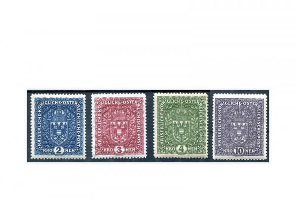 Österreich Kaiserreich Mi.Nr. 200/203 gestempelt