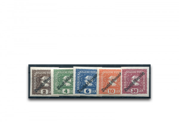 Österreich Mi.Nr. 247/251 gestempelt