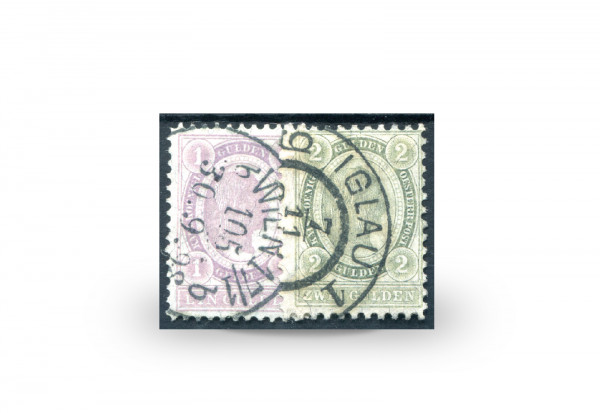 Österreich Kaiserreich 1896 Mi.Nr. 67/68 Freimarken gestempelt