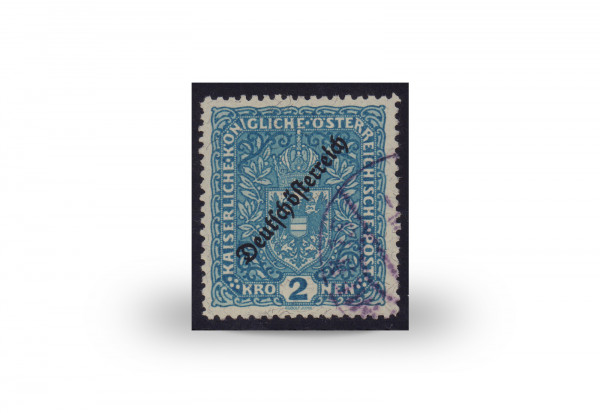 Briefmarke Österreich Kaiserreich Freimarke 1919 Michel-Nr. 243 B gestempelt