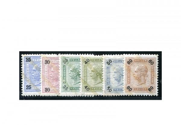 Österreich Kaiserreich Mi.Nr. 84/96 A gest. Zeitungsmarken