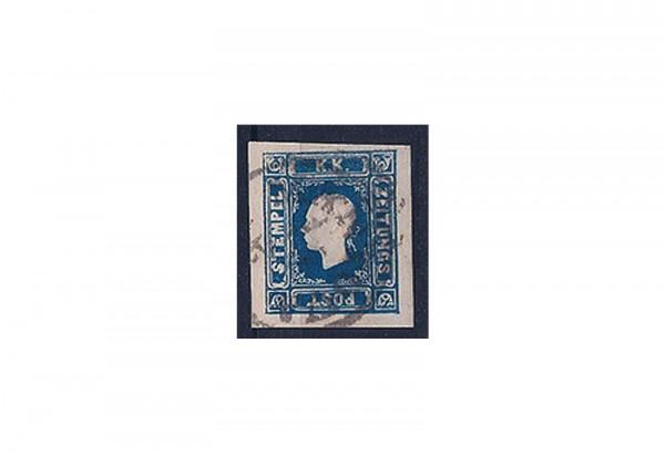 Österreich Kaiserreich Mi.Nr. 16 b Zeitungsmarke 1858 gestempelt