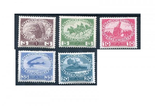 Österreich Kaiserreich 1915 Mi.Nr. 180/184 gestempelt