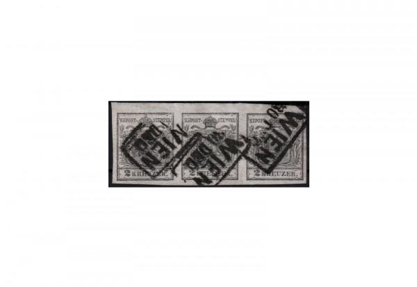 Österreich Kaiserreich Freimarken 1850/4 Michel Nr. 2Xa gestempelt