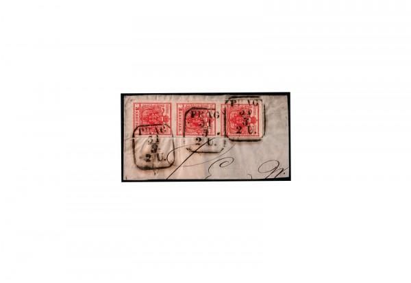 Österreich Kaiserreich Freimarken 1854 Michel Nr. 3 Ya gestempelt