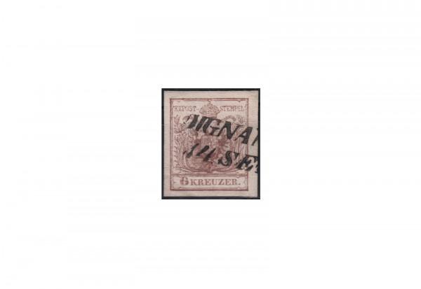 Österreich Kaiserreich Freimarke 1854 michel Nr. 4 Ya gestempelt